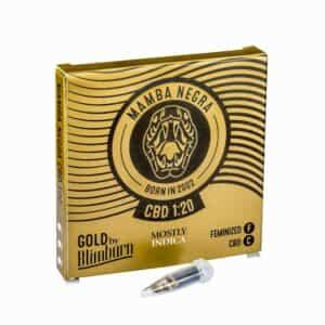 MAMBA NEGRA CBD cannabis seeds pack
