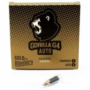GORILLA G4 AUTO cannabis seeds pack