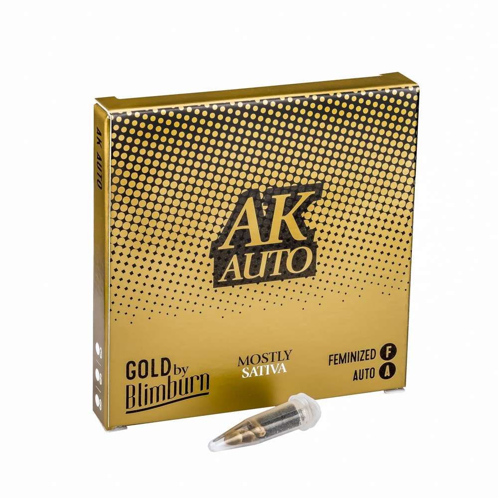 AK AUTO cannabis seeds pack