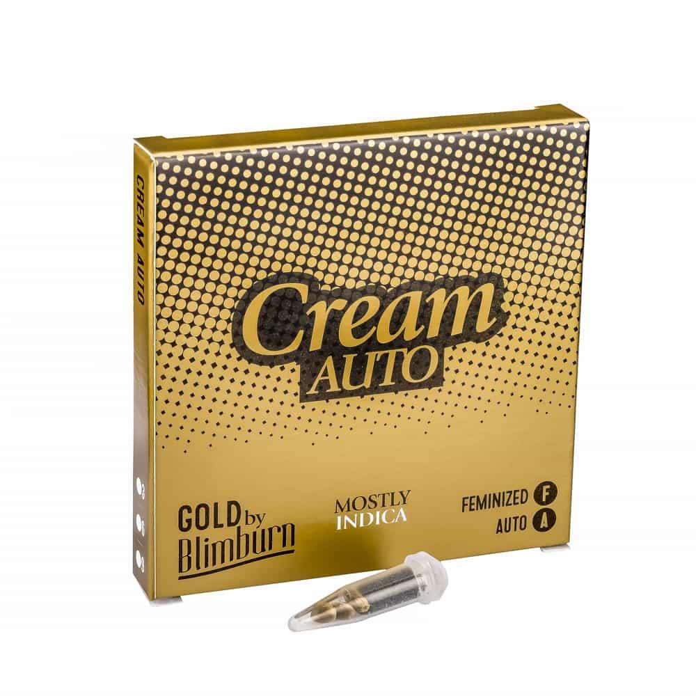CREAM AUTO cannabis seeds pack