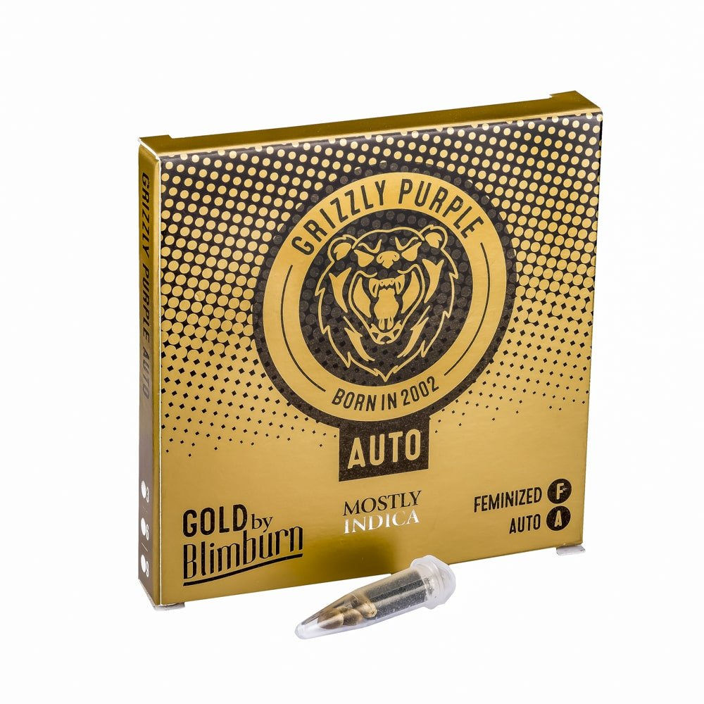 GRIZZLY PURPLE AUTO cannabis seeds pack