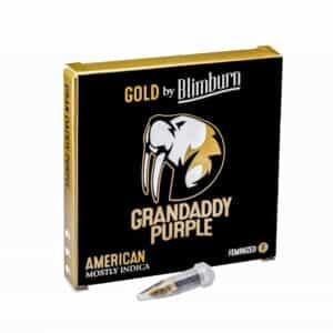 GRANDADDY PURPLE cannabis seeds pack