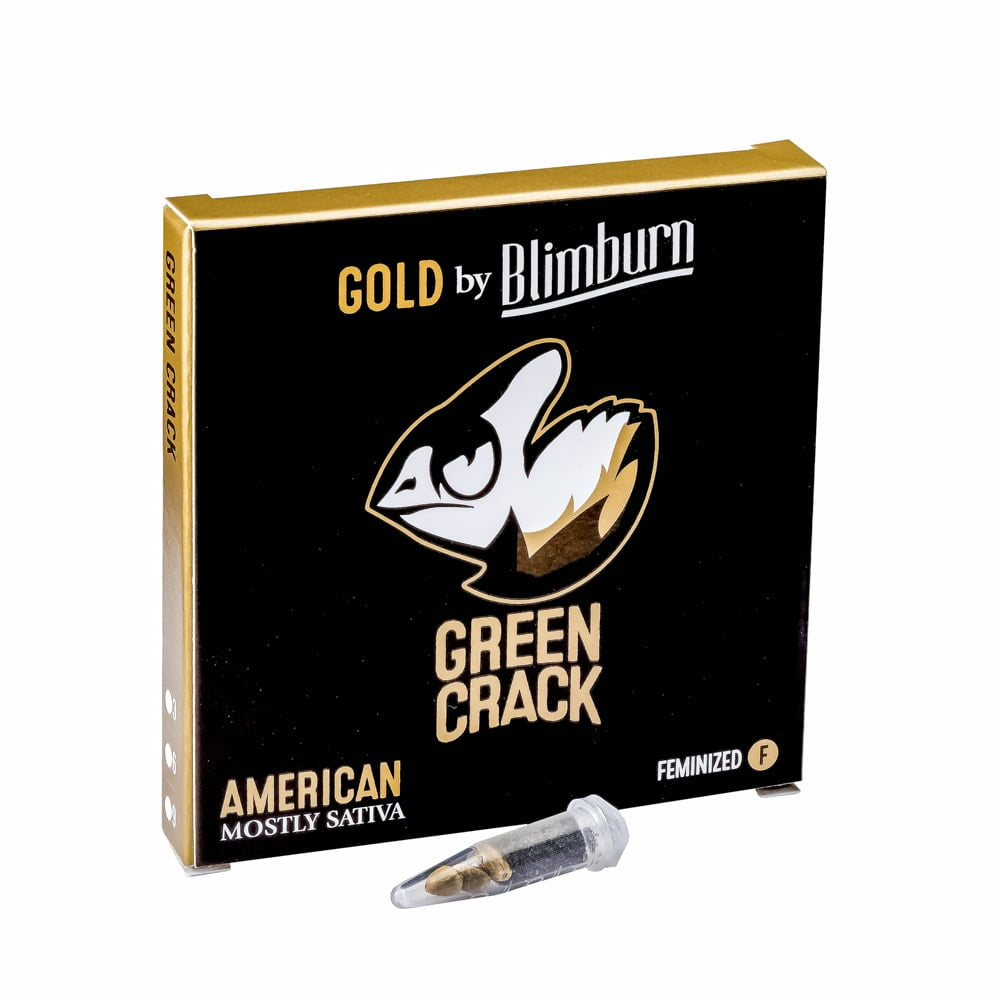 GREEN CRACK cannabis seeds pack