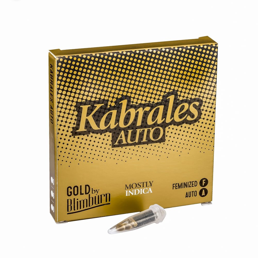 KABRALES AUTO cannabis seeds pack
