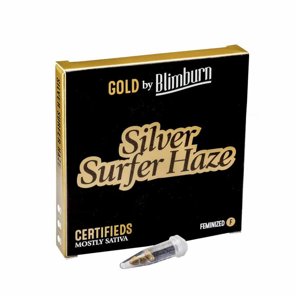 SILVER SURFER HAZE cannabis seeds pack