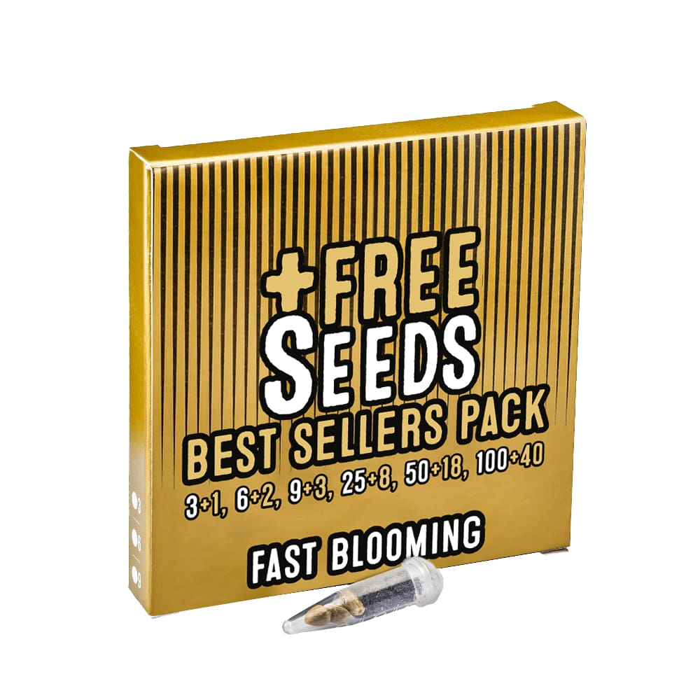 FAST BLOOMING PACK FREE SEEDS